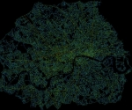 Local integration map of Central London