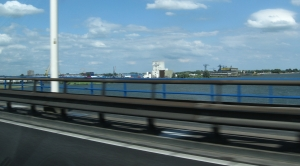 Crossing the Maas into Holland